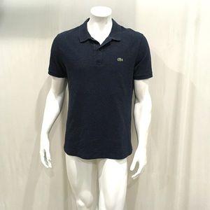 Lacoste Mens Blue Slim Fit Polo Shirt